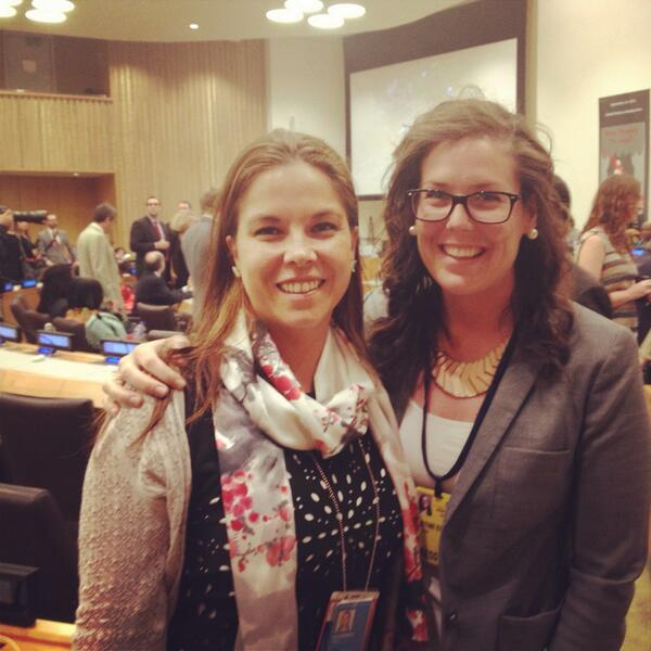 We're at @UN Headquarters for #TooYoungToWed talks on #ChildMarriage @Emmasalor @GirlsGlobe #UNGAweek http://twitter.com/jaybeestay/status/382951317485797376/photo/1