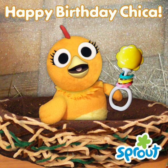 Mark B On Twitter Sproutchannel Happy Happy Birthday Chica