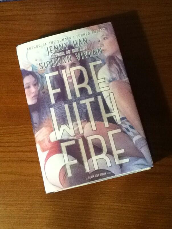 Picture of my copy of Fire with Fire