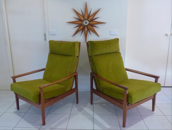 retro furniture shop on twitter stunning pair of fler flermont