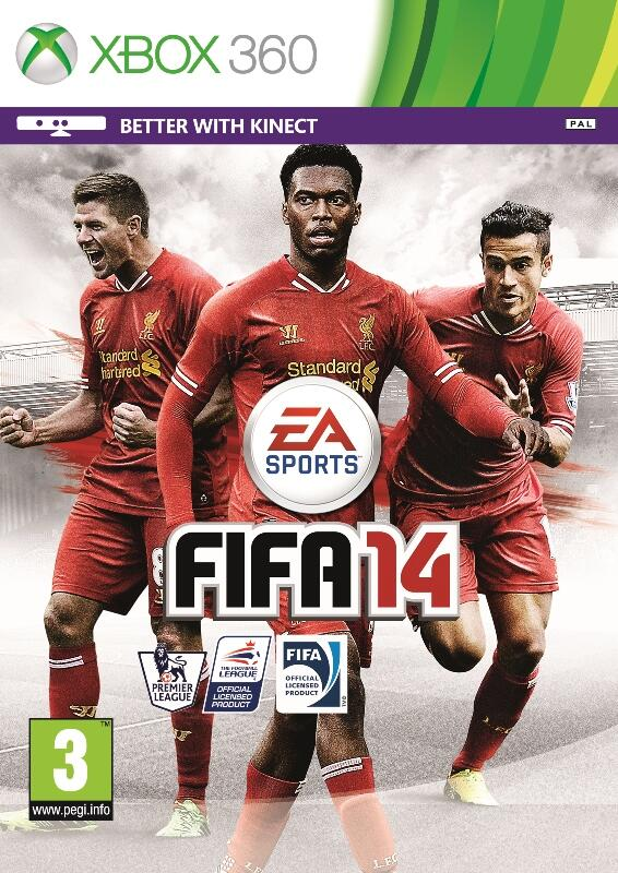 Daniel Sturridge posts Liverpool Edition of FIFA 14, with himself, Steven Gerrard & Coutinho on front cover