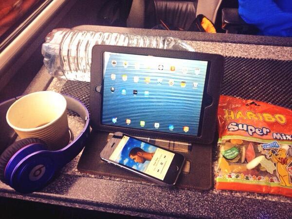 Traveling necessities. #roadtrip #lifeofanotherleague http://twitter.com/DavidJHunt/status/383549585123061763/photo/1