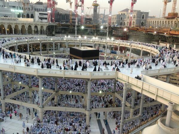 Makkah U C Holy Mosque Mataf Expansion Page 127