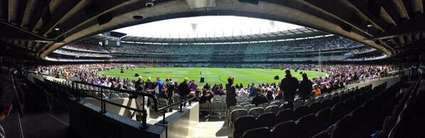 In about a hour #MCG will be rocking! # Melbourne #GoFreo #FreoFinalsFever http://twitter.com/lensman_dan/status/383789849565605888/photo/1 via @lensman_dan