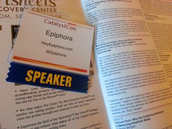 I am SO LEGIT. My panel is tomorrow, people! Ahhhh! #ccon http://twitter.com/Epiphora/status/383766606095986688/photo/1