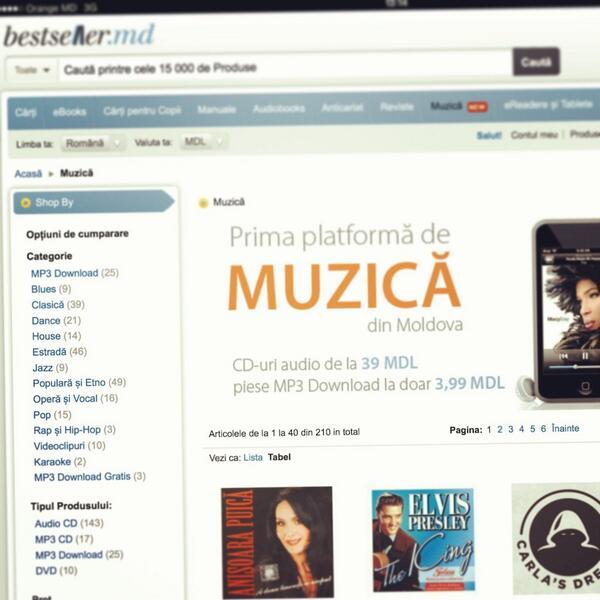 O imagine cu platforma online de Muzică. Ziua Întâi - 27 septembrie 2013! http://t.co/X2ep6aMyRD