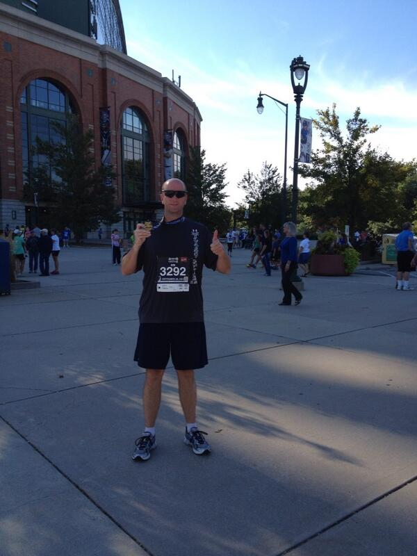 Just finished the #brewersmini in 2:10!! #boom http://twitter.com/Fiddy__50/status/383969954531274753/photo/1