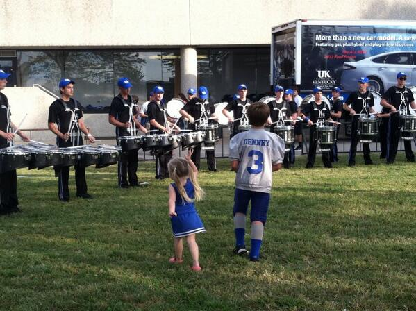 RT @KentuckyBands: The drumline