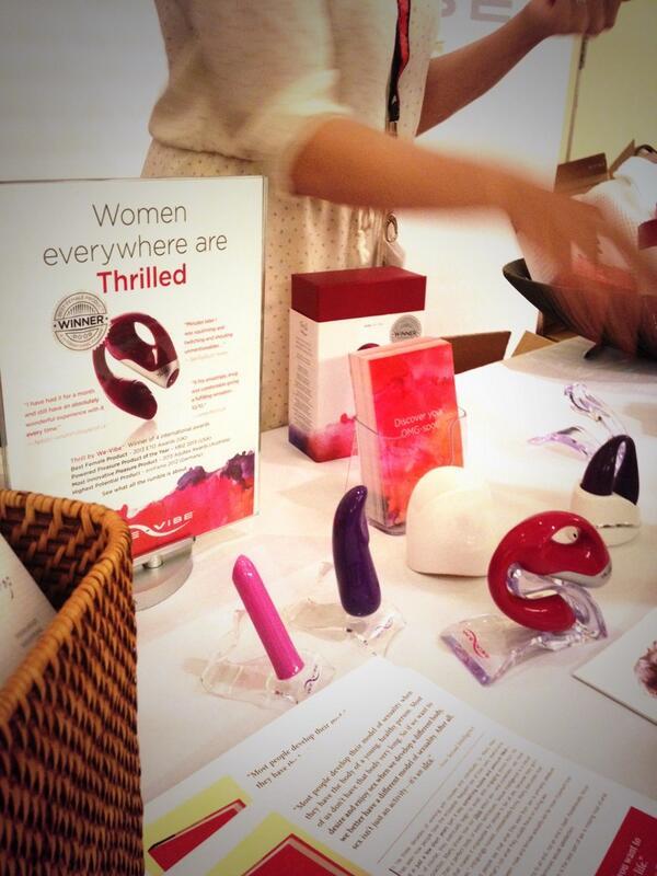 @wevibe loving the new Thrilled vibrator. #ccon #lubezilla #learnlube http://twitter.com/Lubezilla/status/384006335047536641/photo/1