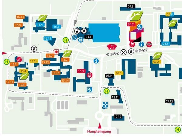 Unser #ScienceTweetup findet in Gebäude 15.3 auf diesem Plan statt. Eingang E2 (Osten), 2. Stock, Raum 3016. (hk) http://twitter.com/ScienceTweetup/status/384216317039214592/photo/1