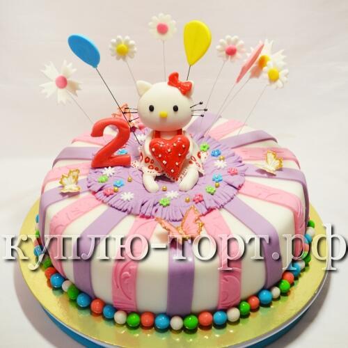 Детский торт фото на два года