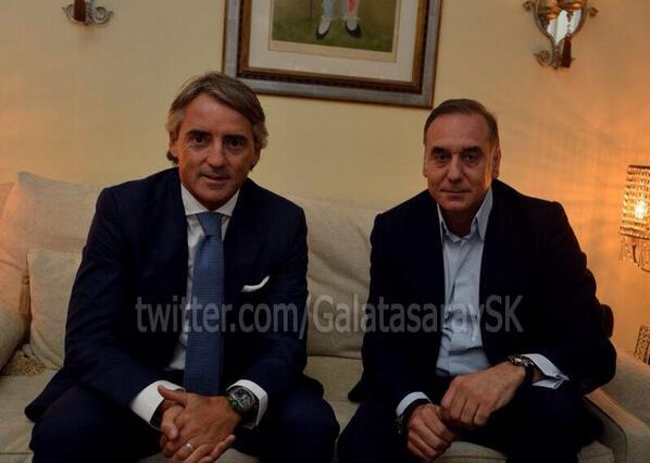 Roberto Mancini appointed new Galatasaray manager
