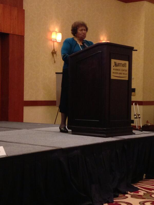 Dr. Joyce Elders delivering the closing speech on Sexual Health in America. #ccon http://twitter.com/goodforher/status/384442889968697344/photo/1