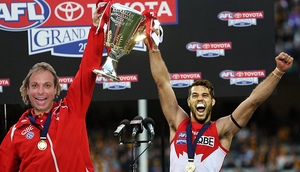 welcome 2 @sydneyswans, @Buddy_Franklin! but let's get 1 thing straight, scg is my d-floor, your just dancing on it ! http://twitter.com/WarwickCapper39/status/384893602066751488/photo/1