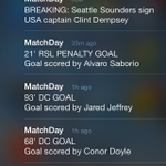 MLS MatchDay for iOS