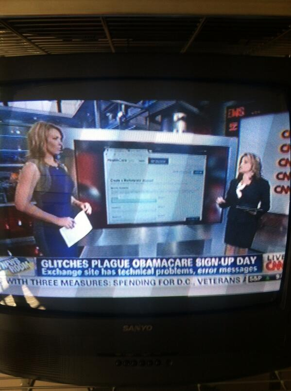 CNN can't sign up for ObamaCARE exchanges either