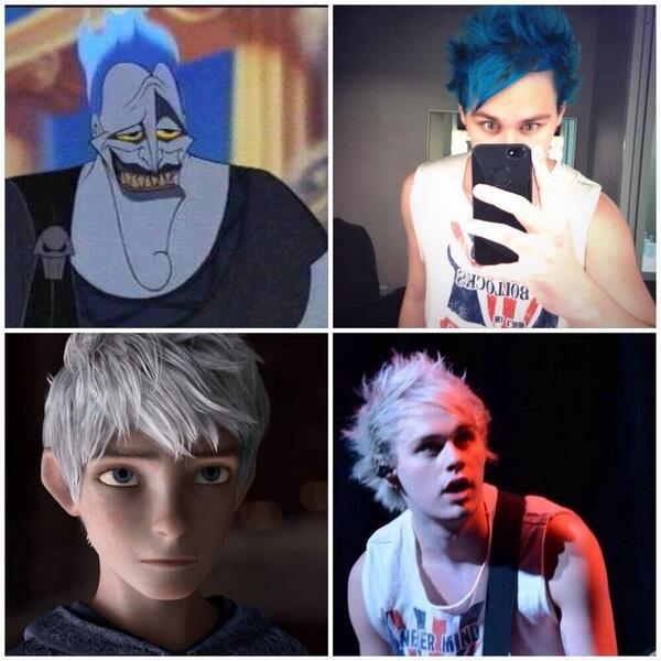 Michael Clifford Hair Timeline inactive on Twitter: &...