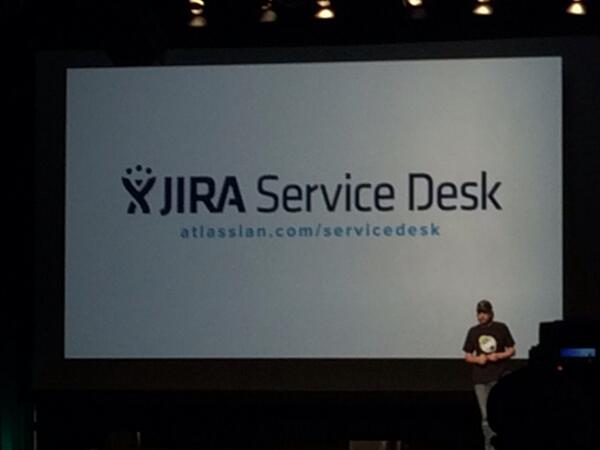 Mike announcing Service Desk