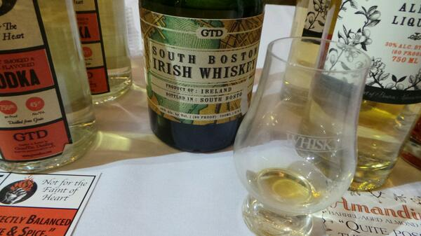 South Boston Irish Whiskey @WhiskyLiveBoston #sponsored #gtd http://twitter.com/stevegarfield/status/385539598216355840/photo/1