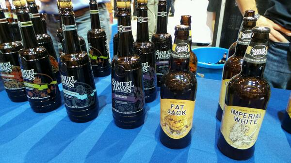 Sam Adams at @WhiskyLiveBoston #sponsored http://twitter.com/stevegarfield/status/385541542691479552/photo/1