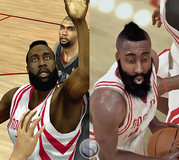 Steve Noah On Twitter Check Out James Harden JHarden13 In NBA2K14 Current Gen Vs Next Rockets