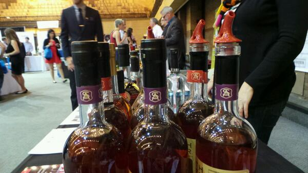 Bottles @WhiskyLiveBoston #sponsored http://twitter.com/stevegarfield/status/385530784599515136/photo/1