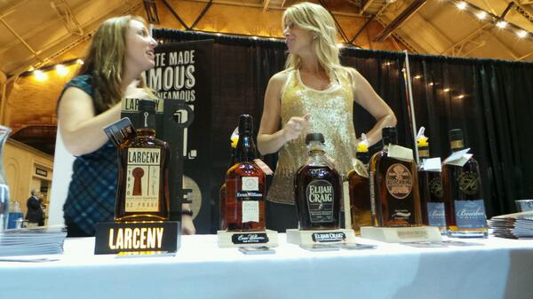 Elijah Craig. @WhiskyLiveBoston #sponsored http://twitter.com/stevegarfield/status/385531450566914048/photo/1