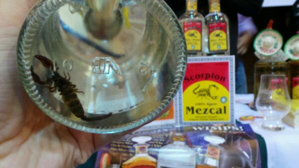 Mezcal. @WhiskyLiveBoston #sponsored http://twitter.com/stevegarfield/status/385580678991347712/photo/1
