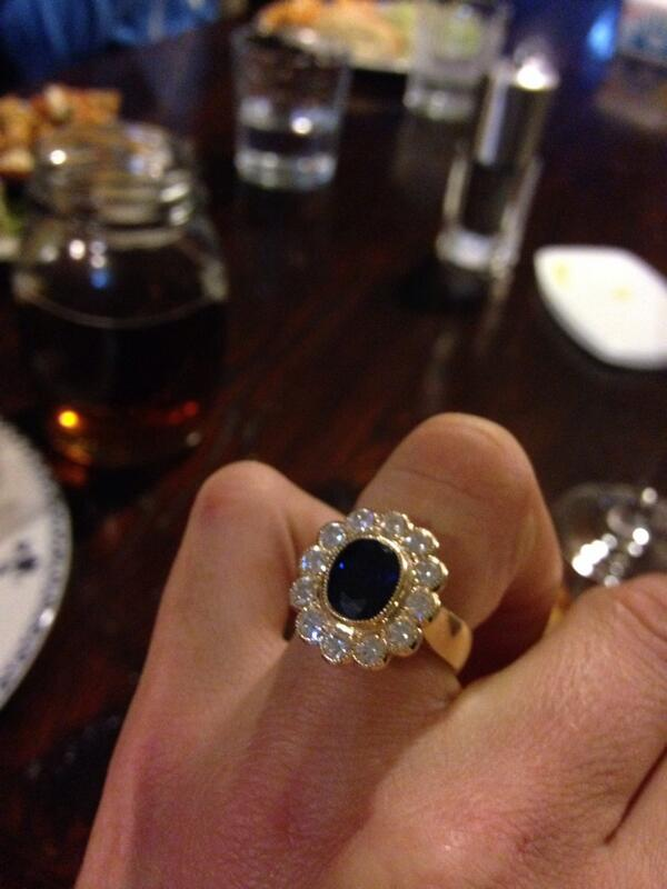 Katie McVean on Twitter My amazing engagement ring Thank you