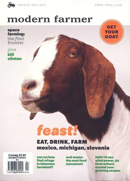 Modern Farming - Magazine cover