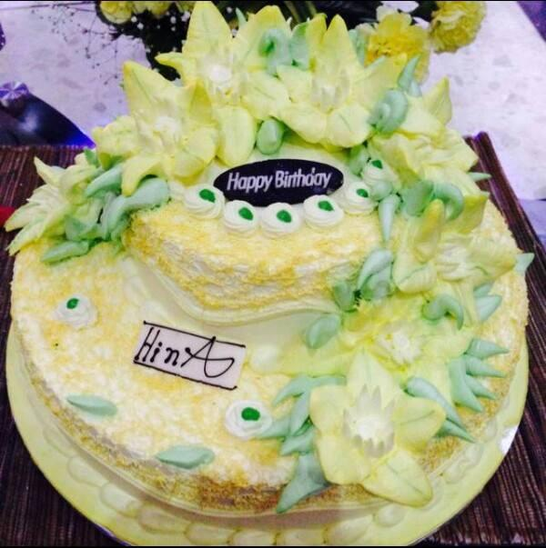Hina Khan On Twitter The Birthday Cake Http T Co Yf7njs9irc