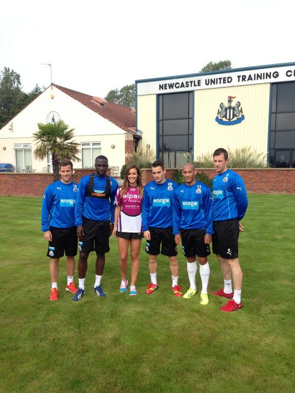 Newcastle United Fc On Twitter Charliecw Was At The Training Ground Launching Charliesbigchallenge Visit Http T Co G61atqi7xb For Info Http T Co Ds6zotfhns