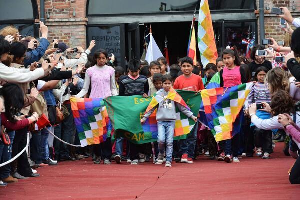 El #CongresodelosChicos es el homenaje a los 30 años d democracia Niños d 4 a 14 años d todo el país y Latinoamérica http://twitter.com/Pedro_Zizzamia/status/385850389200769024/photo/1