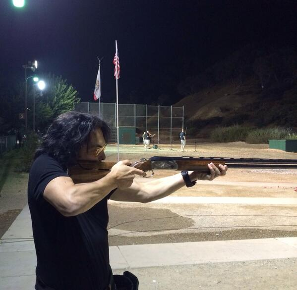 """Paul Stanley On Twitter: """"Speaking Of Shooting... Out"""