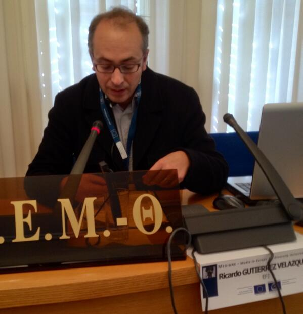 #Mediane_gr Ricardo: Pluralism and Diversity is and has always been a must in journalusm promoted by the EFJ http://twitter.com/Rainerdjv/status/386098278867030016/photo/1