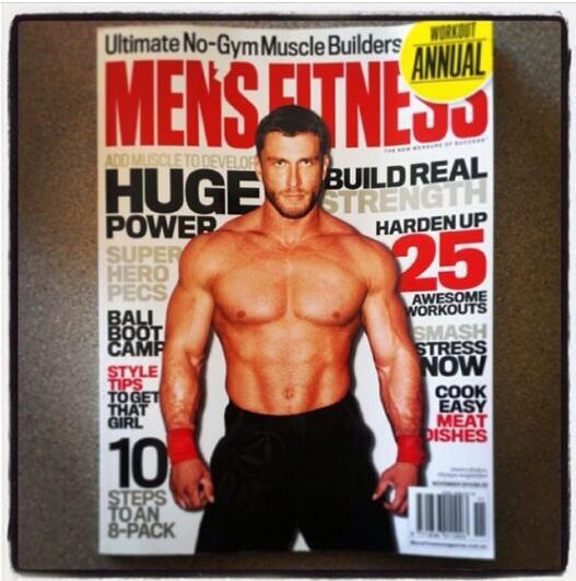"""Dmitry Klokov on Twitter: """"Men's fitness Australia 2013 ..."""