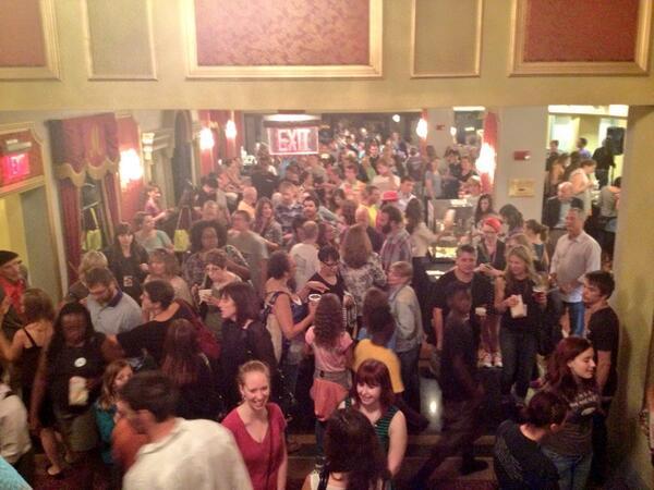 Here at Citizen Jane's opening night film: Maidentrip. #CJFFevolve http://twitter.com/citizenjanefilm/status/386284861620617216/photo/1