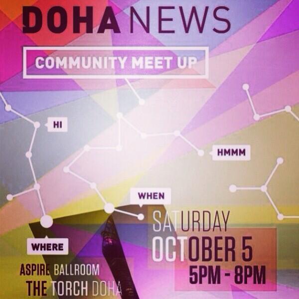 Thumbnail for Doha News Community Meetup 2013
