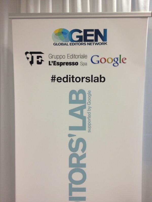 Hackdays #editorslab di @GENInnovate a Roma. Ospita @espressonline. Si parte http://twitter.com/gabrielemartini/status/386398918965489664/photo/1