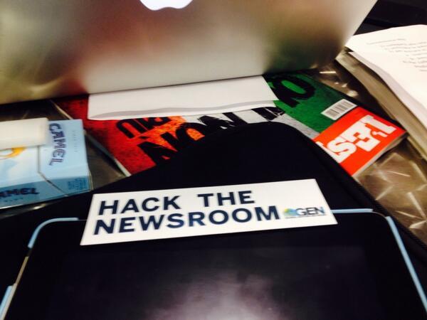 Hack the newsroom @GENInnovate #editorslab @corriereit http://twitter.com/martaserafini/status/386430016646418432/photo/1