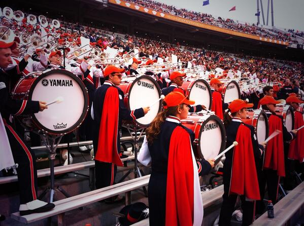 #bassdrums for days @UVaDrumline