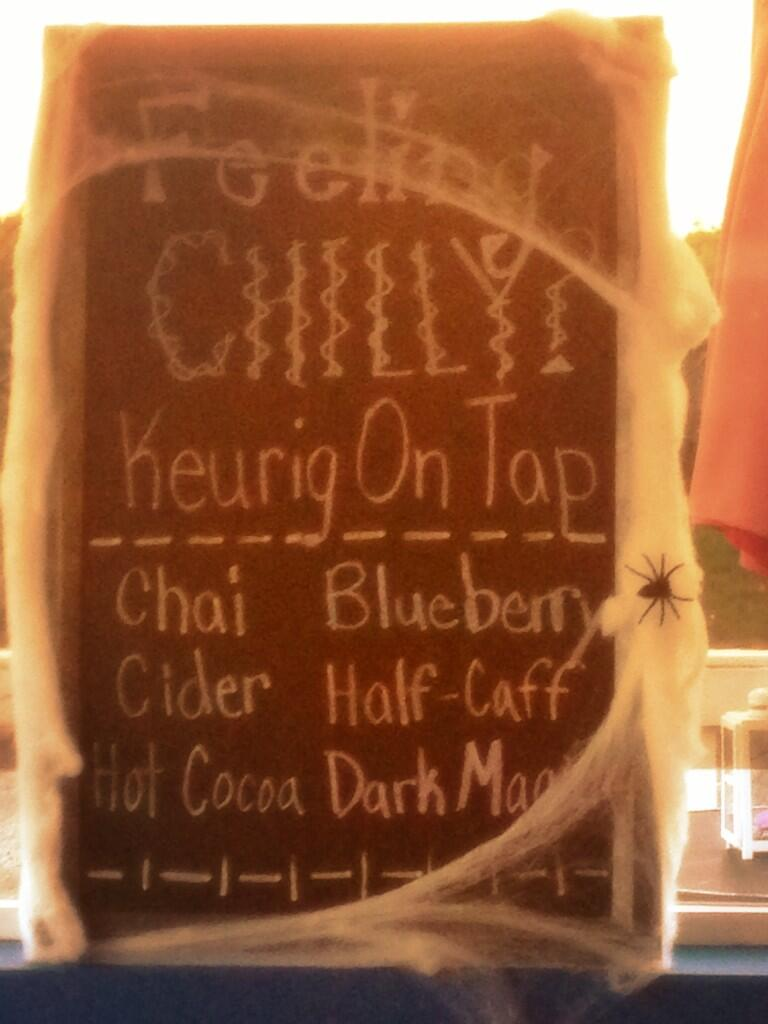 Twitter / zboswell: Keurig on tap?! #classy #craft ...