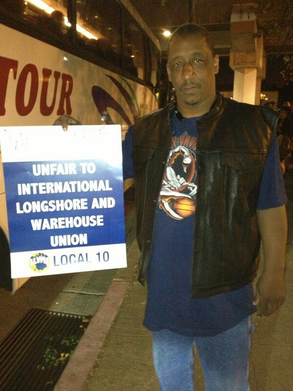 Local 10 Longshoreman Juan Carnegie in support of BART unions: 'Everywhere there's an attack on labor' #BARTstrike http://twitter.com/northoaklandnow/status/391194757474443264/photo/1