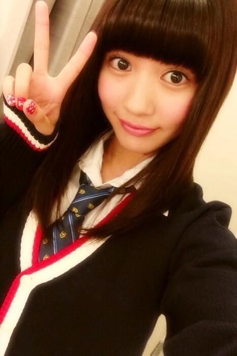 髪のアクセサリーが素敵な荻野可鈴さん