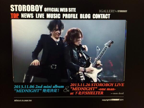今ラジオで流れたSTOROBOYの新曲「VIRGIN」のMVは見てもらえたでしょうか?!関和亮監督の手によって僕らの世界観が一発で分かってもらえる仕上がりになってます!絶対チェック!! http://t.co/gaTZj5wEcz http://t.co/BgucMfS3y8