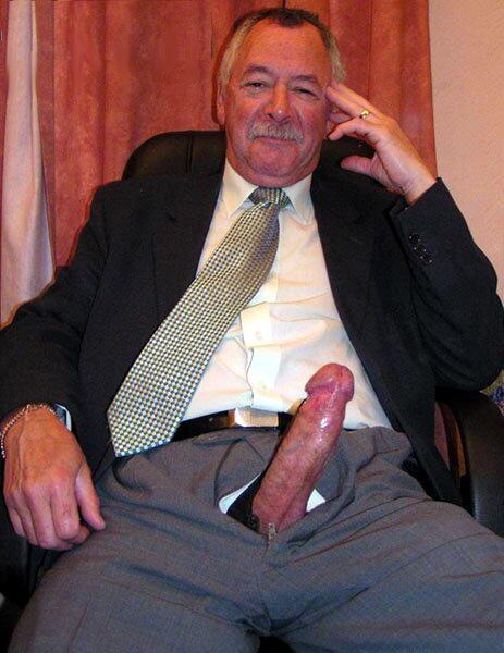 Business Man Suit Bulge