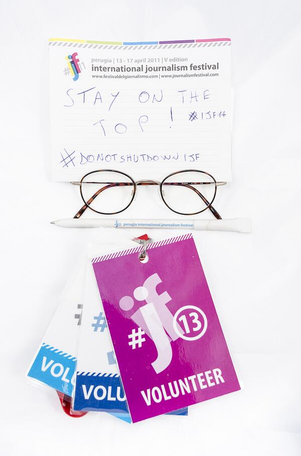 Il futuro incerto del @journalismfest di Perugia: http://www.festivaldelgiornalismo.com/post/31133/ #StayOnTheTop #ijf14 #donotshutdownijf http://twitter.com/reggaeroland/status/391281645182935040/photo/1