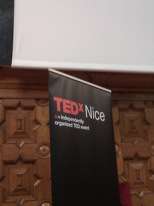 Une beau cadre et une belle scéne pour le #TEDxNice http://twitter.com/TEDxNice/status/391461561526542337/photo/1