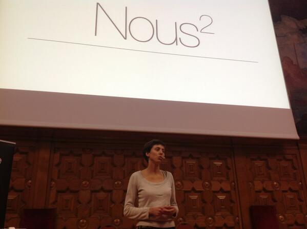 La co-création, le potentiel du collectif > nouveau beau thème traité au #TEDxNice http://twitter.com/CelineSchill/status/391476015379513344/photo/1