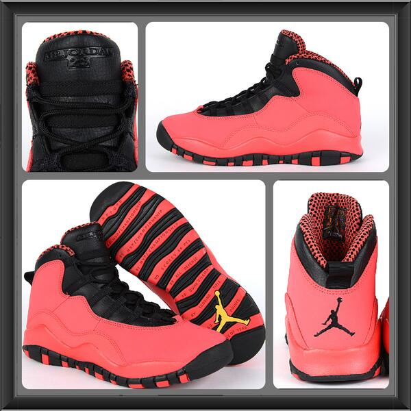f6fa0b06386c33 ... get foot locker on twitter the girls gs air jordan 10 retro fusion red  is now